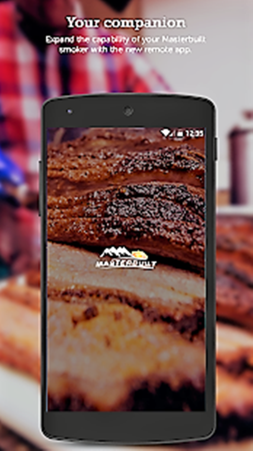 Masterbuilt Bluetooth smoker app