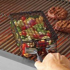 grilling flip basket