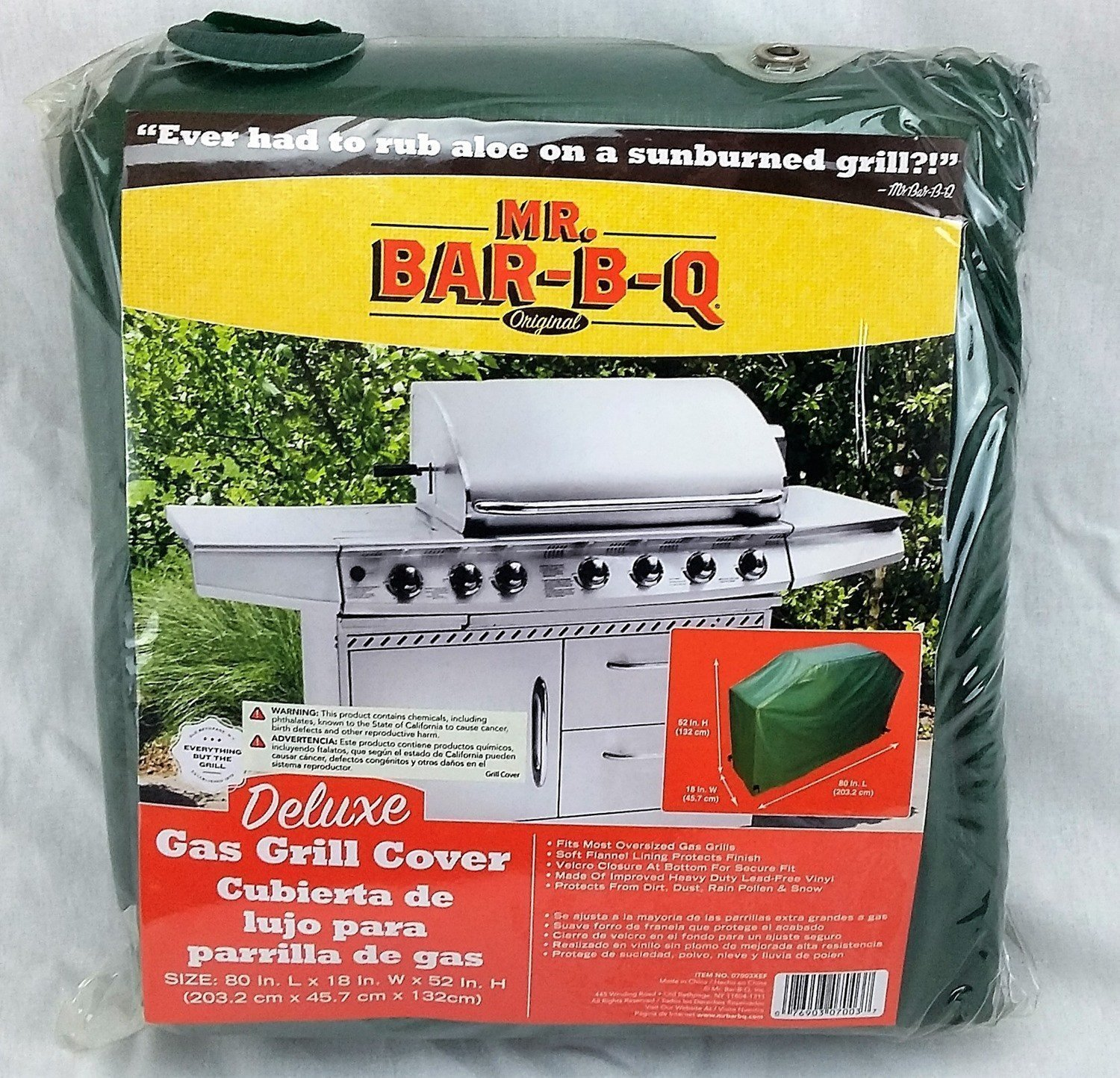 Extra Large 80 Inch Grill Cover Deluxe 4thegrill Com