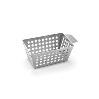 small grilling side basket stainless