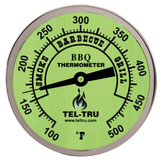 tel-tru barbecue thermometer glow in the dark dial face