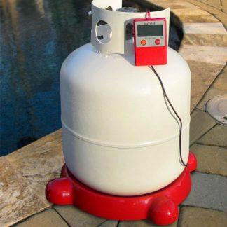 Gaswatch propane tank scale on tank