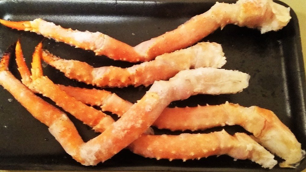 frozen King Crab Legs