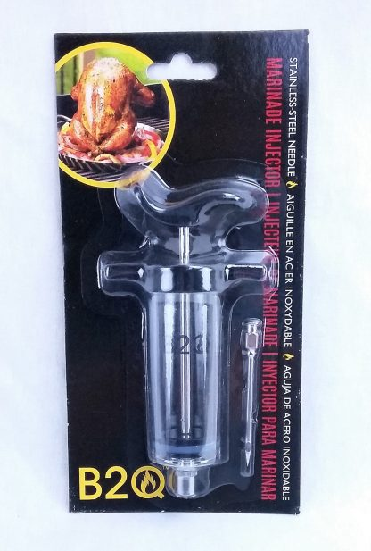 syringe marinade injector package fron