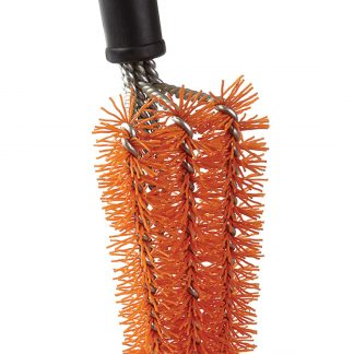 Nylon Bristle Grill Brush head close up