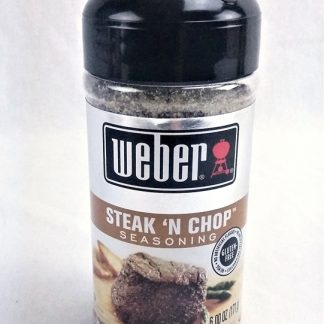 weber steak and chop seasoning