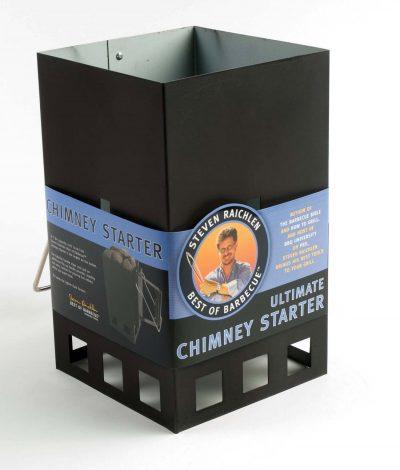 Large Capacity Charcoal Chimney Starter Steven Raichlen
