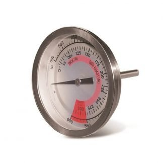 Char-Broil 3 inch Universal Grill Smoker Thermometer