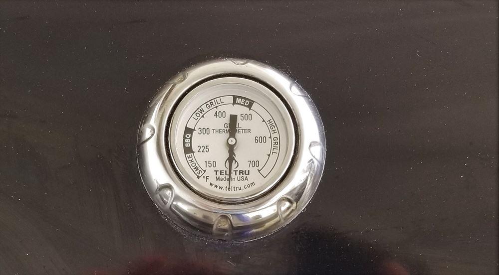tel-tru Thermometer mounted